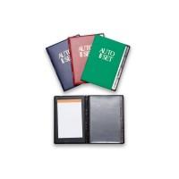 Θήκη για Άδεια και Δίπλωμα Αυτοκινήτου, ΚΤΕΟ και Ασφαλιστήριο με μπλοκ σημειώσεων.