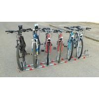 Μπάρα στάθμευσης ποδηλάτων με 7 θέσεις